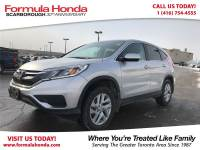 Certified Pre-Owned 2015 Honda CR-V $100 PETROCAN CARD NEW YEAR'S SPECIAL! AWD