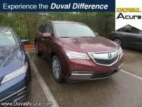 Used 2016 Acura MDX For Sale | Jacksonville FL
