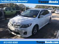 Pre-Owned 2012 Toyota Corolla S FWD 4D Sedan