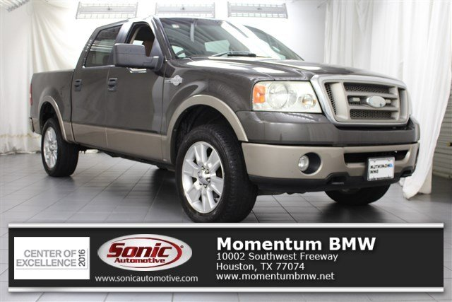 Photo Used 2006 Ford F-150 SuperCrew King Ranch Supercrew 139 4WD Truck SuperCrew Cab in Houston, TX