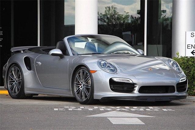 Photo Used 2015 Porsche 911 Turbo Convertible For Sale Scottsdale, AZ