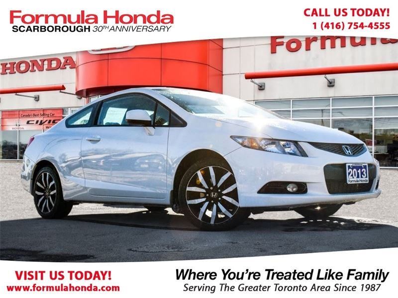 Photo Certified Pre-Owned 2013 Honda Civic Coupe 100 PETROCAN CARD NEW YEARS SPECIAL FWD Car
