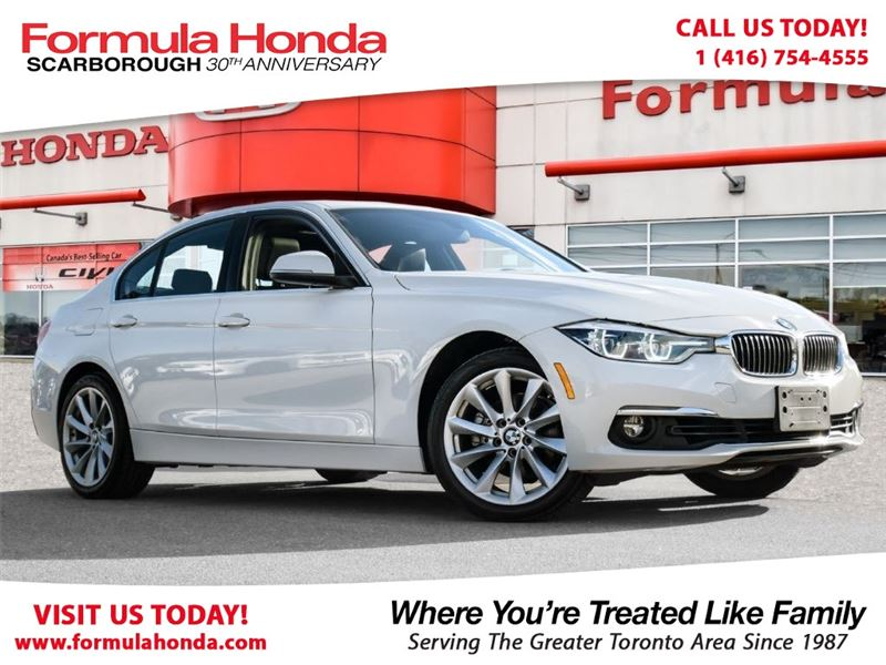 Photo Pre-Owned 2017 BMW 3 Series 100 PETROCAN CARD NEW YEARS SPECIAL AWD
