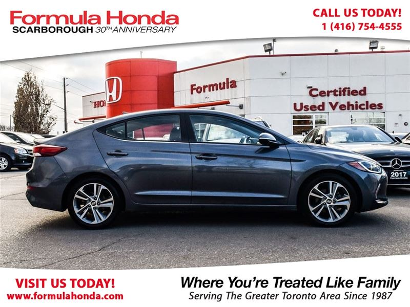Photo Pre-Owned 2017 Hyundai Elantra 100 PETROCAN CARD NEW YEARS SPECIAL FWD Car