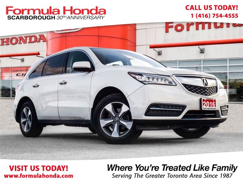 Photo Pre-Owned 2016 Acura MDX 100 PETROCAN CARD NEW YEARS SPECIAL AWD