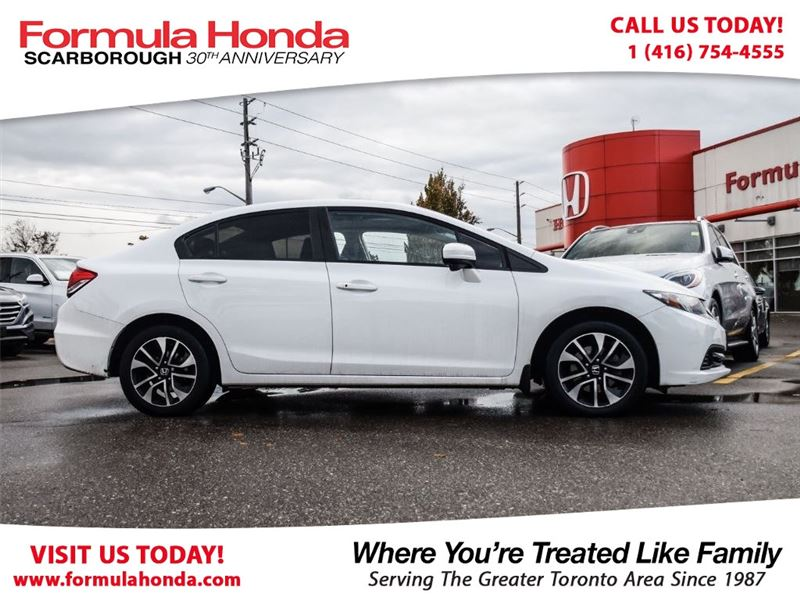 Photo Certified Pre-Owned 2014 Honda Civic Sedan 100 PETROCAN CARD NEW YEARS SPECIAL FWD Car