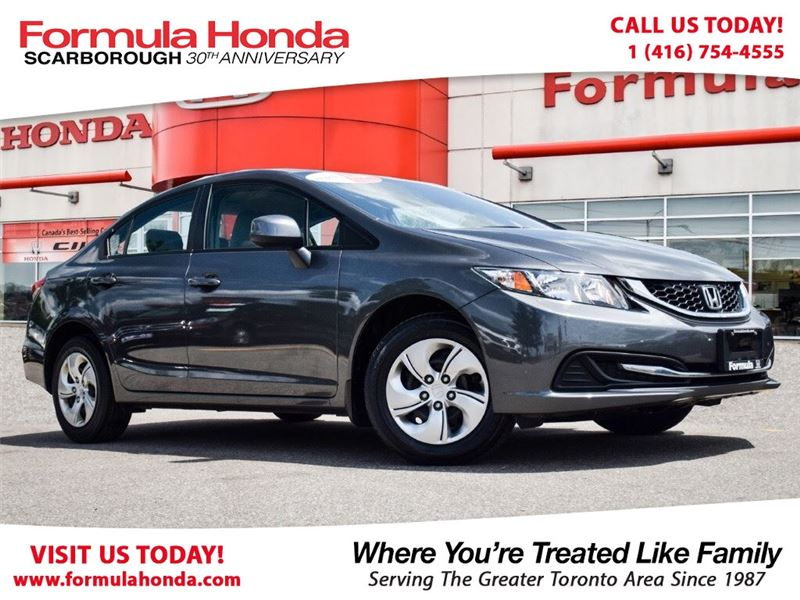 Photo Certified Pre-Owned 2015 Honda Civic Sedan 100 PETROCAN CARD NEW YEARS SPECIAL FWD Car