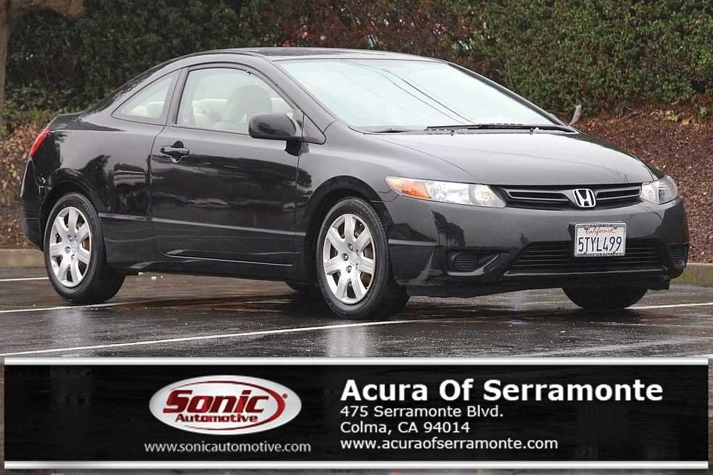 Photo Used 2006 Honda Civic LX For Sale in Colma CA  Stock S6H549125  San Francisco Bay Area