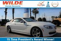 Pre-Owned 2012 BMW 6 Series 2dr Conv 650i RWD Convertible