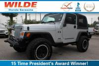 Pre-Owned 2005 Jeep Wrangler 2dr X 4WD