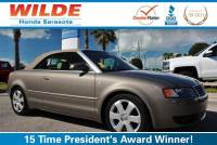 Pre-Owned 2005 Audi A4 2005 2dr Cabriolet 1.8T CVT FWD Convertible