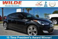 Pre-Owned 2012 Hyundai Veloster 3dr Cpe Auto w/Red Int FWD 3dr Car