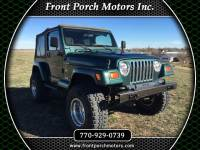 2001 Jeep Wrangler TJ Saharah 4.0 L In Line Six Cylinder Automatic, Hard  Doors With Glass Rollup Windows, Dark Green With Tan Soft Top Brand New 4  Inch Sky ...