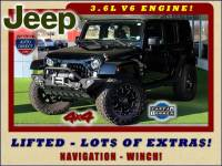 2015 Jeep Wrangler Unlimited Sahara 4x4 - LIFTED - LOT$ OF EXTRA$!