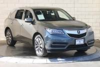 Certified Pre-Owned 2016 Acura MDX SH-AWD with Technology Package Sport Utility