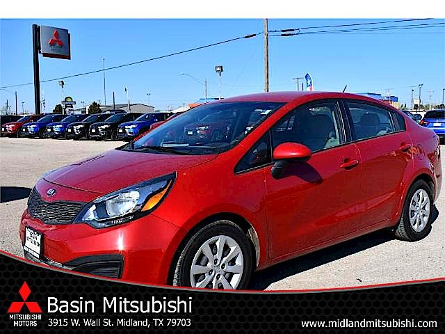 Photo Used 2015 Kia Rio For Sale  Midland TX  VINKNADM4A39F6484453