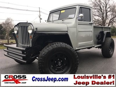 Photo PRE-OWNED 1950 JEEP WILLYS TRUCK
