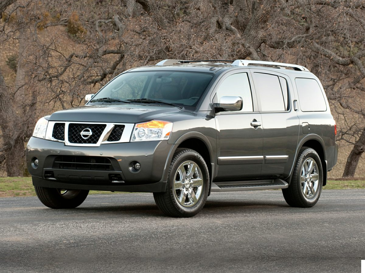 Photo Pre-Owned 2010 Nissan Armada Platinum SUV For Sale  Raleigh NC