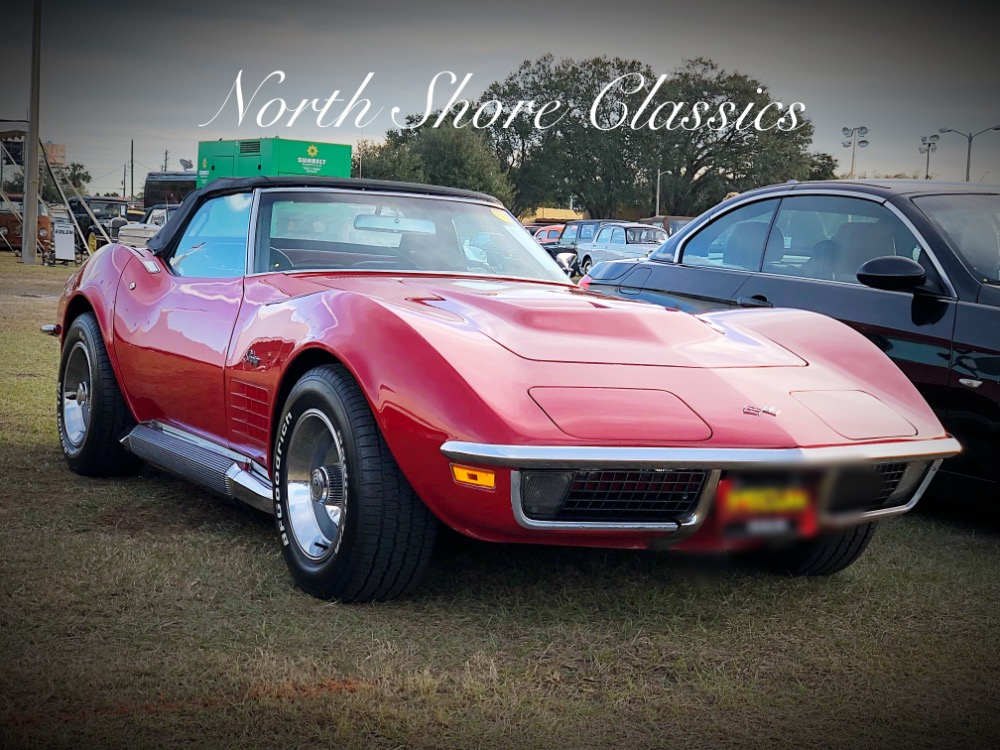 Photo 1970 Chevrolet Corvette -STINGRAY CONVERTIBLE-4 SPEED WITH SIDE PIPES-