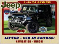 2015 Jeep Wrangler Unlimited Sahara 4x4 - LIFTED - $6K IN EXTRA$!