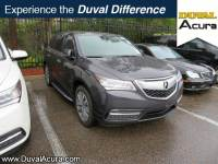 Used 2016 Acura MDX For Sale | Jacksonville FL