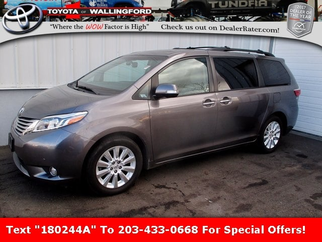 Photo Certified Used 2015 Toyota Sienna Limited Premium For Sale in Wallingford CT  5TDDK3DC0FS094372