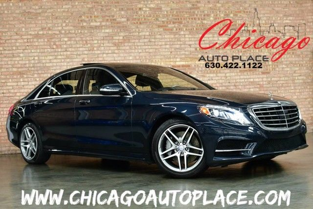 Photo 2014 Mercedes-Benz S-550 S 550 4MATIC - ORIGINAL MSRP127,135 1 OWNER NAVI BACKUP CAM PANO ROOF MASSAGE SEATS DISTRONIC