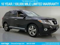 Pre-Owned 2014 Nissan Pathfinder Platinum 2WD Front Wheel Drive 4 Dr SUV