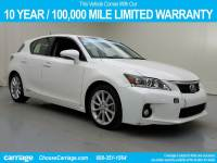 Pre-Owned 2013 Lexus CT200h Hybrid Front Wheel Drive 4 Dr Hatchback