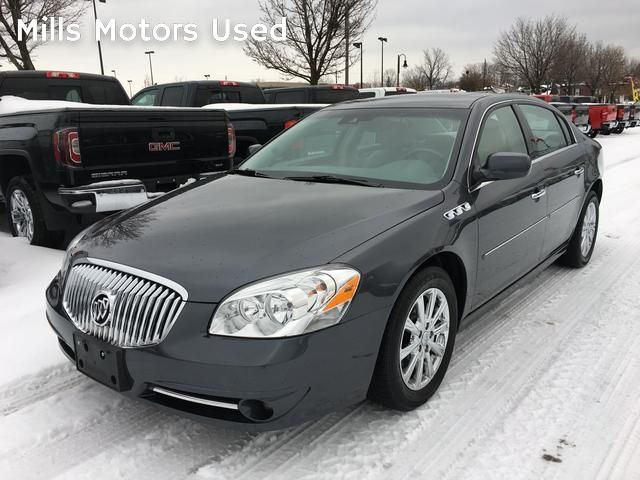 Photo Certified Pre-Owned 2011 Buick Lucerne CXL Bluetooth Leather Heated Seats Park Assist Lane Departure Warning