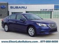 Used 2017 Subaru Legacy 2.5I Premium Sedan in Houston