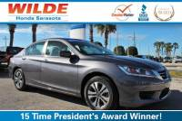 Certified Pre-Owned 2015 Honda Accord 4dr I4 CVT LX FWD 4dr Car
