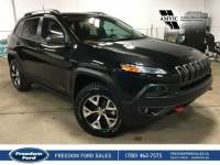 Used 2016 Jeep Cherokee Trailhawk Heated Seats, Backup Camera Four Wheel Drive 4 Door Sport Utility