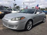 2008 Hyundai Tiburon GT Limited Coupe for Sale near Fort Lauderdale, Florida