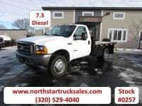 Used 1999 Ford F-450 Flat Bed Truck