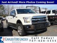 2015 Ford F-150 Lariat CREW CAB LONG BED TRUCK V8 FFV ENGINE