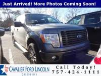 2014 Ford F-150 STX CREW CAB SHORT BED TRUCK V8 FFV ENGINE