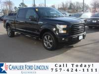 2015 Ford F-150 XLT CREW CAB TRUCK V6 ECOBOOST ENGINE
