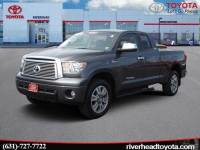 Used 2012 Toyota Tundra Limited 5.7L V8 Double Cab 4x4 Truck Double Cab 4x4 for Sale in Riverhead, NY