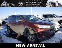 Certified Pre-Owned 2015 Toyota Highlander XLE V6 All Wheel Drive w/Heated Leather Seats, Moo SUV in Plover, WI