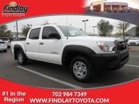 Certified Pre-Owned 2013 Toyota Tacoma DLX RWD Crew Cab Pickup