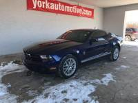 PRE-OWNED 2012 FORD MUSTANG V6 PREMIUM RWD 2D COUPE