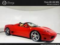 2001 Ferrari 360 Spider Spider   Fresh Major   Shields   Daytona Seats   Tubi Exhaust   02 03 04 Rear Wheel Drive Convertible