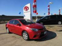 Used 2014 Toyota Corolla LE Sedan FWD For Sale in Houston