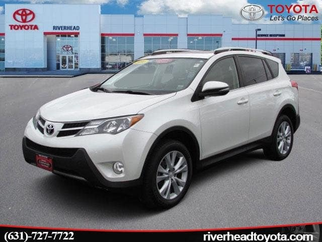 Photo Used 2014 Toyota RAV4 4WD Limited SUV All-wheel Drive for Sale in Riverhead, NY