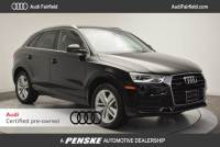 Certified Pre-Owned 2016 Audi Q3 2.0T SUV in Fairfield, CT