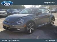 2012 Volkswagen Beetle 2.0T Turbo w/Sun/Snd/Nav PZEV Hatchback