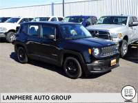 CERTIFIED PRE-OWNED 2017 JEEP RENEGADE SPORT 6MT, CLEAN CARFAX, 66 MILES! FWD 4D SPORT UTILITY
