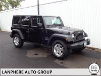 PRE-OWNED 2014 JEEP WRANGLER UNLIMITED SPORT CLEAN CARFAX, HARD TOP! 4WD
