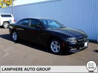 CERTIFIED PRE-OWNED 2016 DODGE CHARGER SE 1-OWNER, DUAL AC, LOW MILES! RWD 4D SEDAN